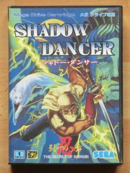 Shadow Dancer Mega Drive Action Arcade
