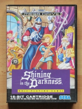Shining in the Darkness Mega Drive RPG