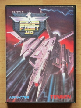 Slap Fight MD Mega Drive Shmup