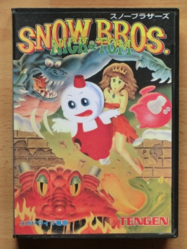 Snow Bros. Nick & Tom Mega Drive Jump and Run