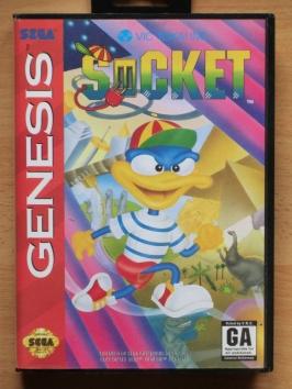 Socket Mega Drive Jump and Run Time Dominator