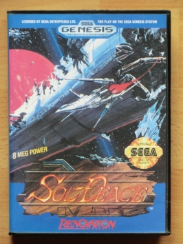 Sol-Deace Mega Drive Shmup