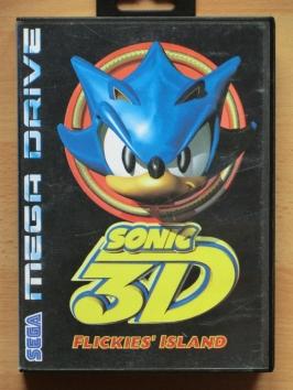 Sonic 3D Flickies Island Mega Drive Jump and Run