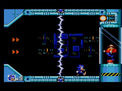 Sonic the Hedgehog SEGA Master System Jump and Run Boss Dr Robotnik Eggman