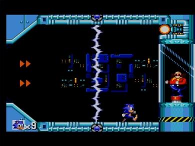 Sonic the Hedgehog SEGA Master System Jump and Run Boss Dr Robotnik Eggman