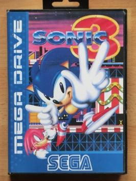 Sonic 3 the Hedgehog Mega Drive Jump and Run
