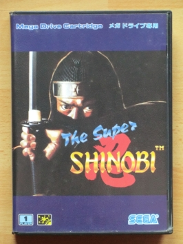 The Super Shinobi Mega Drive Action Ninja