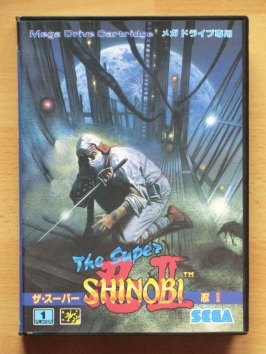 The Super Shinobi II 2 Mega Drive Action Ninja