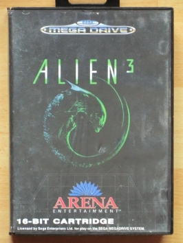 Alien 3 Mega Drive Action