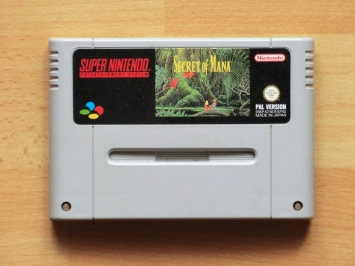 Secret of Mana Super Nintendo SNES RPG