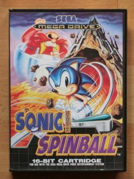 Sonic Spinball Mega Drive Pinball Flipper
