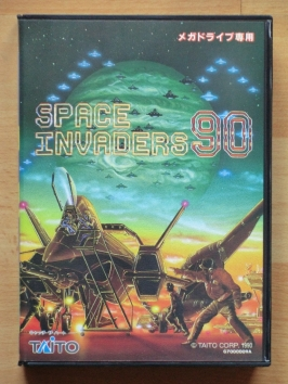 Space Invaders 90 Mega Drive Shmup