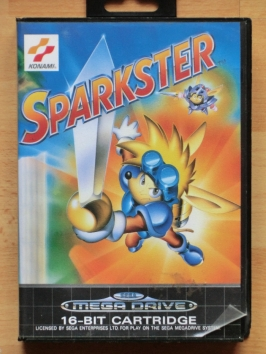 Sparkster Mega Drive Jump and Run