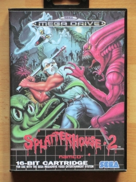 Splatterhouse 2 Mega Drive beat em Up Horror