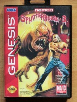 Splatterhouse 3 Mega Drive beat em Up Horror