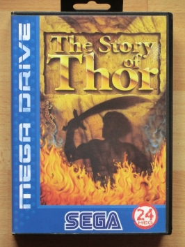 The Story of Thor Mega Drive RPG