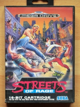 Streets of Rage Mega Drive beat em up