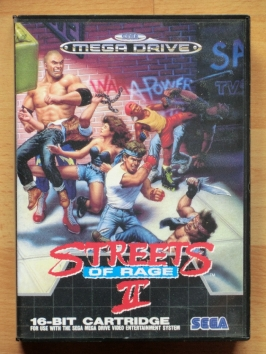 Streets of Rage 2 mega Drive beat em up