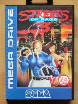 Streets of Rage 3 Mega Drive beat em up