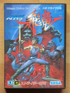 Strider Hiryu Mega Drive Action