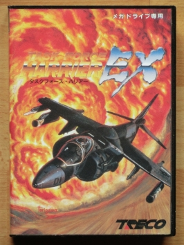 Task Force Harrier EX Mega Drive Shmup