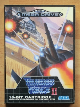 Thunder Force 2 II Mega Drive Shmup
