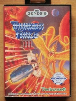 Thunder Force 3 III Mega Drive Shmup