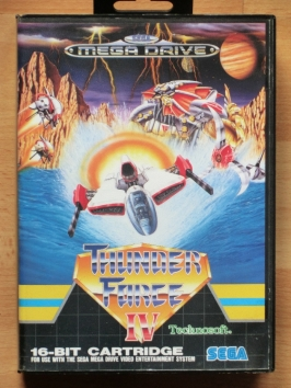 Thunder Force 4 IV Mega Drive Shmup