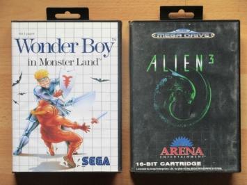 Wonder Boy Alien 3 Master System mega Drive