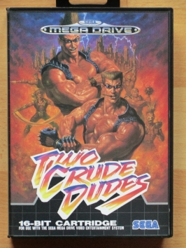Two Crude Dudes Mega Drive Beat Em Up