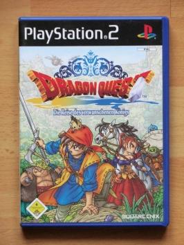 Dragon Quest Die Reise des verschwundenen Königs PS2 Playstation 2 RPG