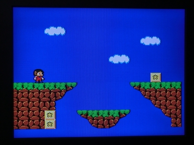 Master System 50 60 Hz Hertz Mod Umbau 50/60 Alex Kid in Miracle World