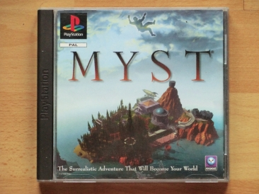 Myst PS1 Playstation Adventure