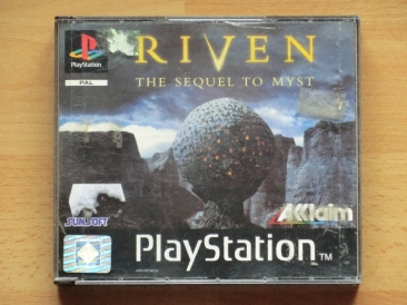 Riven The Sequel to Myst PS1 Playstation Adventure