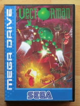 Vectorman Mega Drive Jump and Run