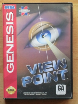 Viewpoint Mega Drive Shmup