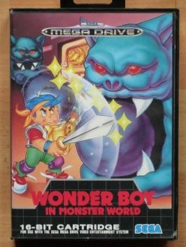 Wonder Boy in Monster World Mega Drive Action Adventure