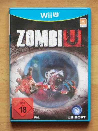 ZombiU WiiU Wii U Survival Horror