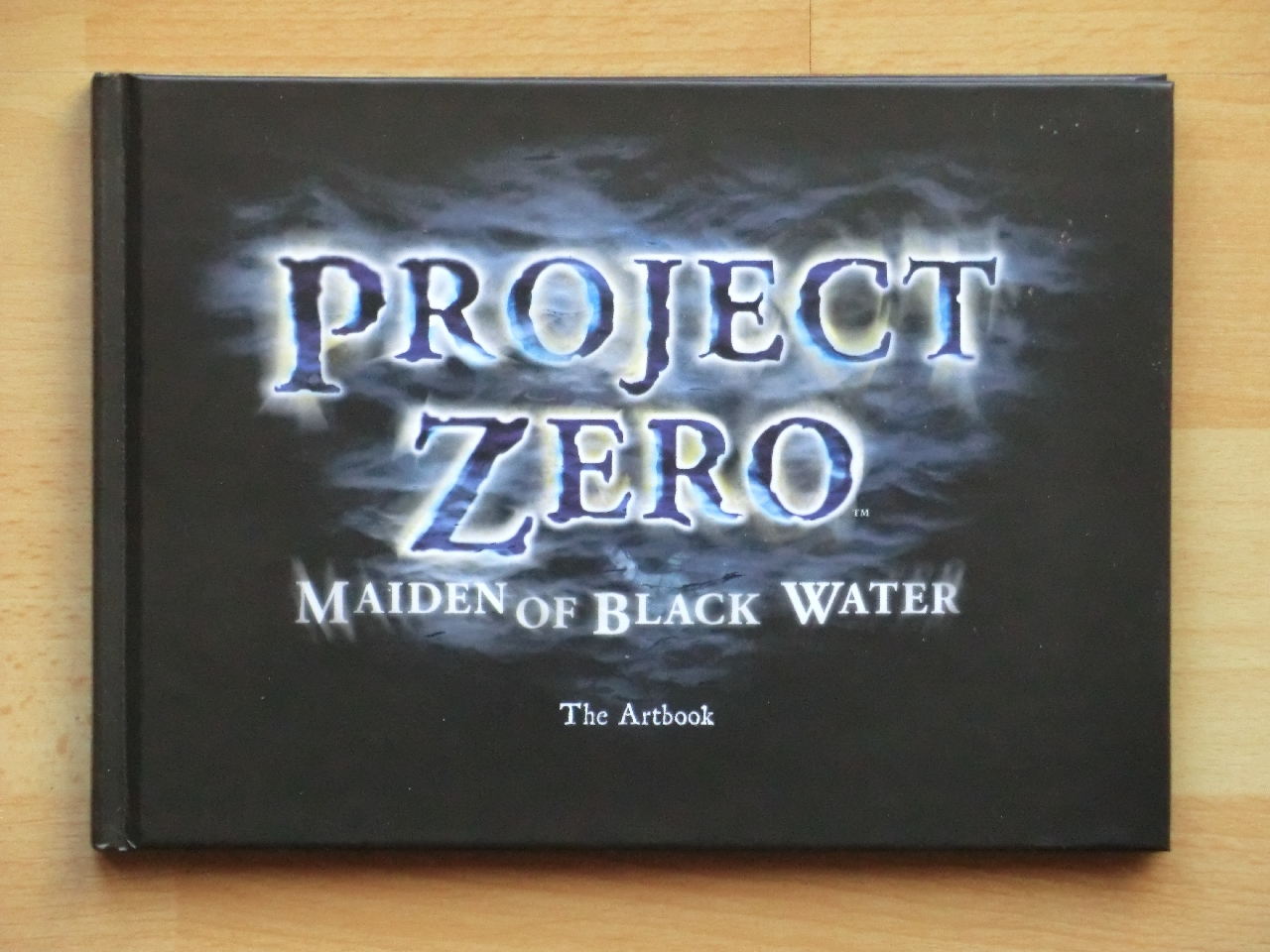Project Zero Maiden of Black Water Wii U Survival Horror Fatal Frame Limited Edition Artbook