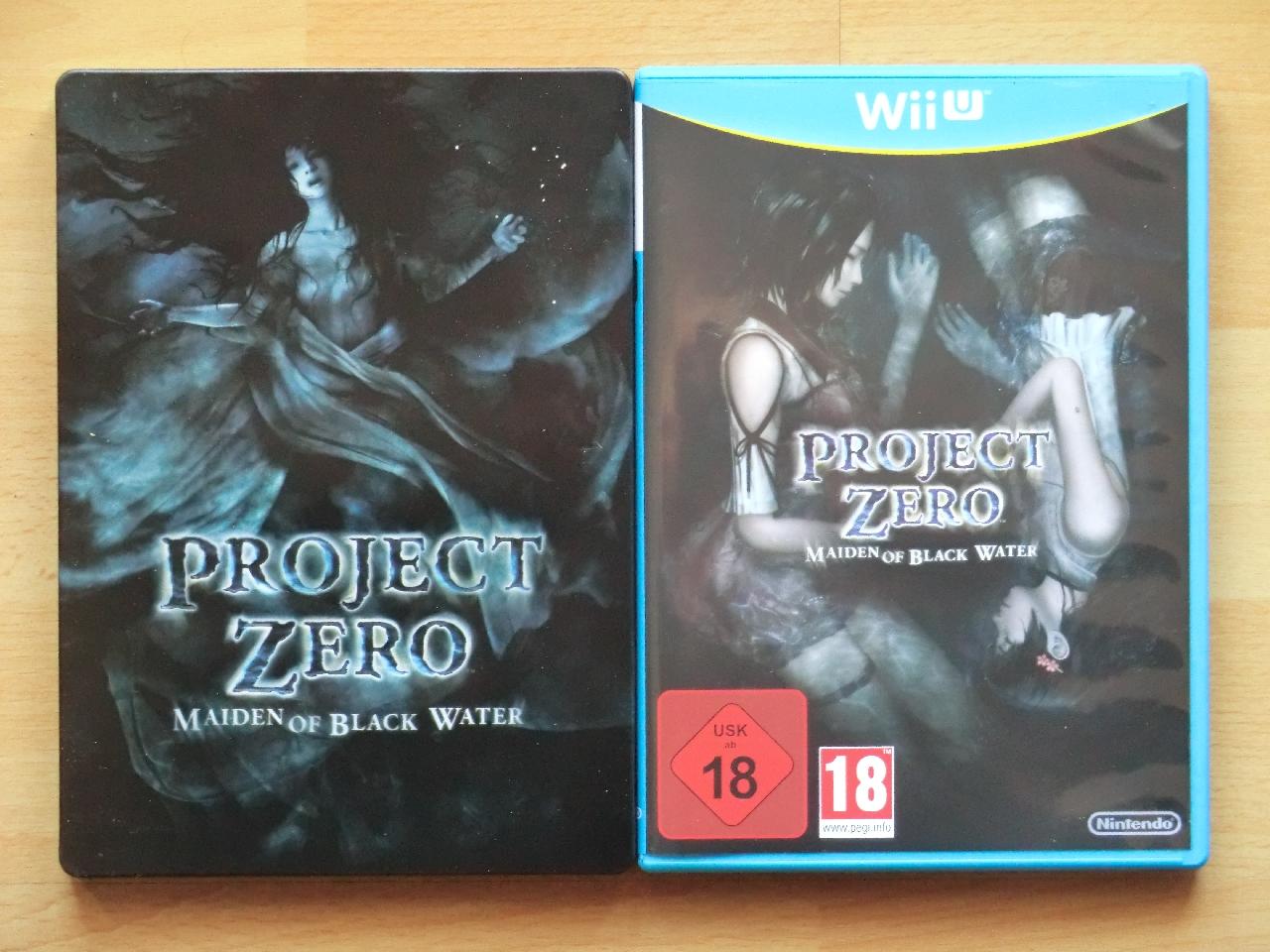 Project Zero Maiden of Black Water Wii U Survival Horror Fatal Frame Limited Edition Steelbook