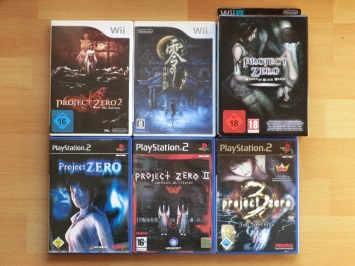 Project Zero Collection Sammlung Fatal Frame Survival Horror