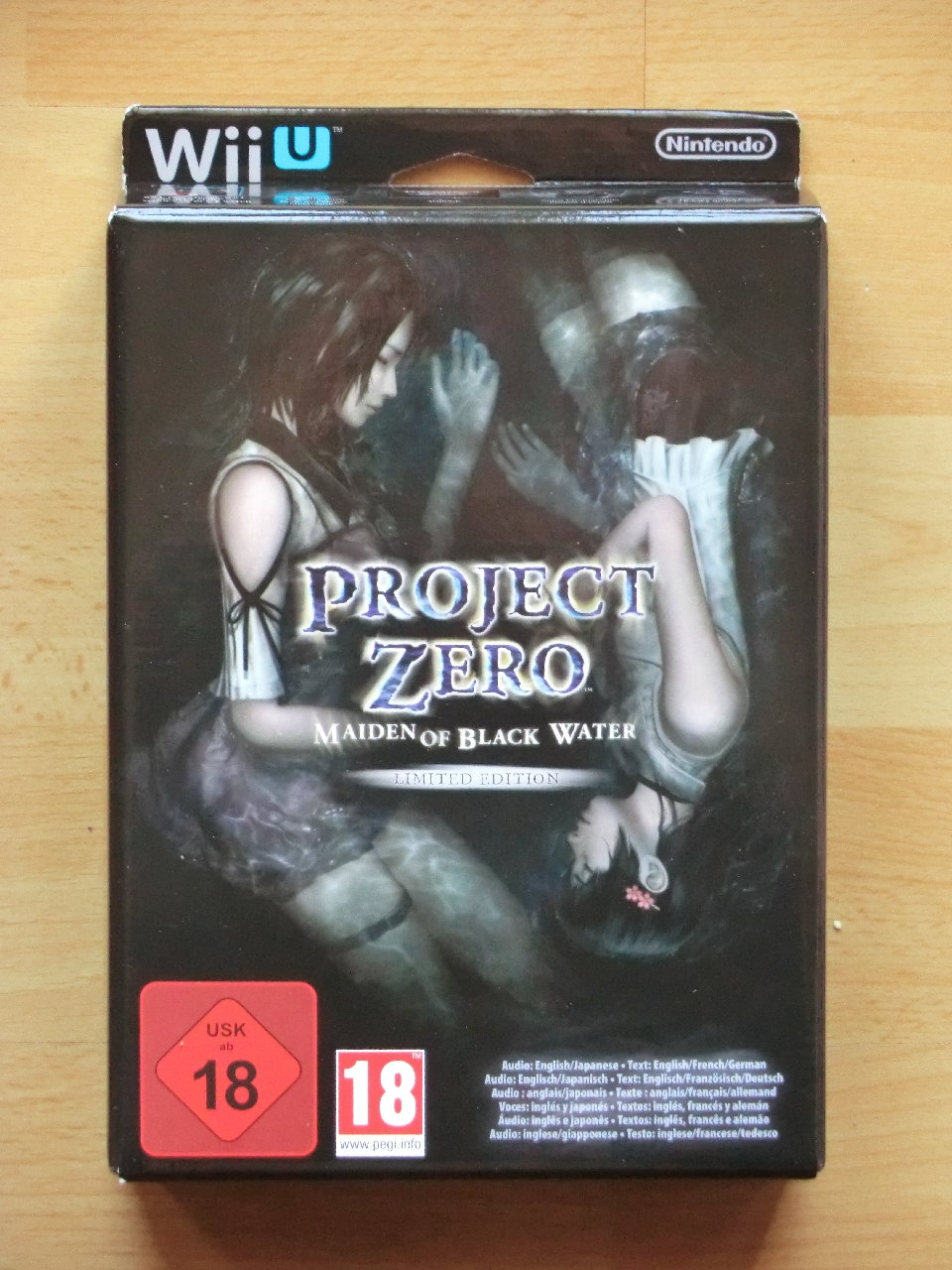Project Zero Maiden of Black Water Wii U Survival Horror Fatal Frame Limited Edition