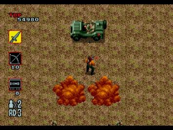 Rambo 3 III Mega Drive Action Screenshot