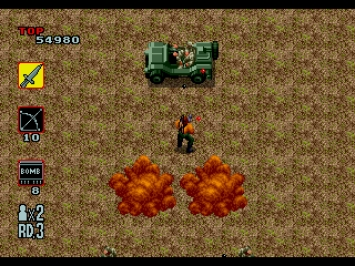 Rambo 3 III Mega Drive Action Screenshot