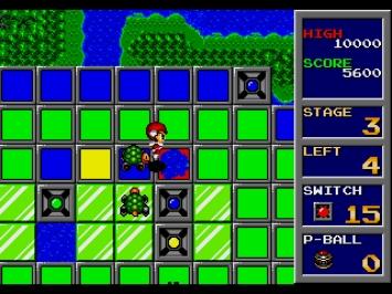 Trampoline Terror Mega Drive Screenshot