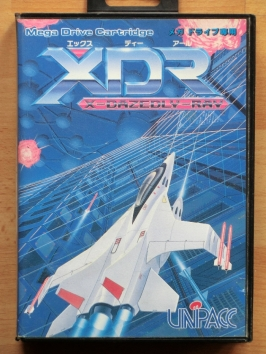 XDR X Dazedly Ray Mega Drive Shmup