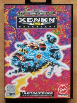 Xenon 2 Megablast Mega Drive Shmup