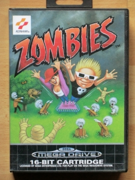 Zombies Mega Drive Action