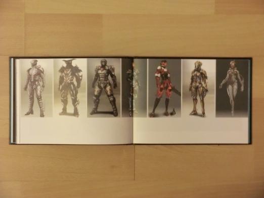 Artbook Rüstungen