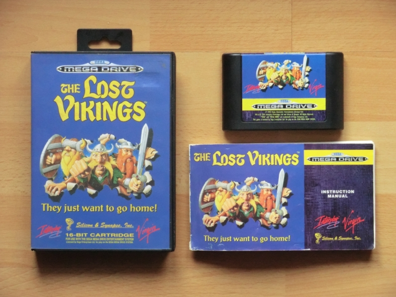 Lost Vikings Mega Drive Puzzle